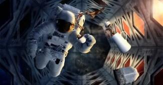 cafe en el espacio