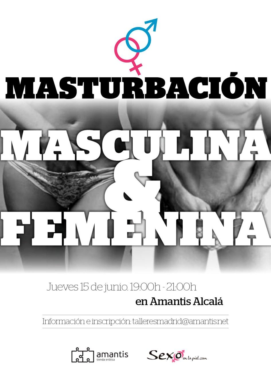 Masturbación femenina y masculina