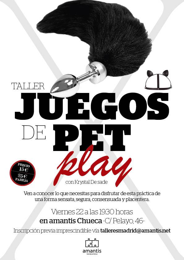 Taller juegos de Pet Play