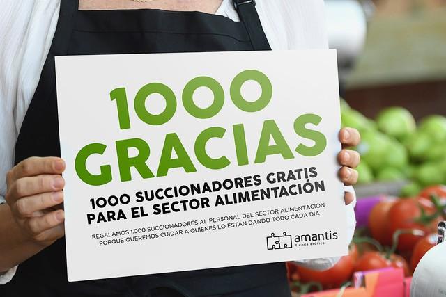 Mil Gracias Donación Succionadores Alimentación