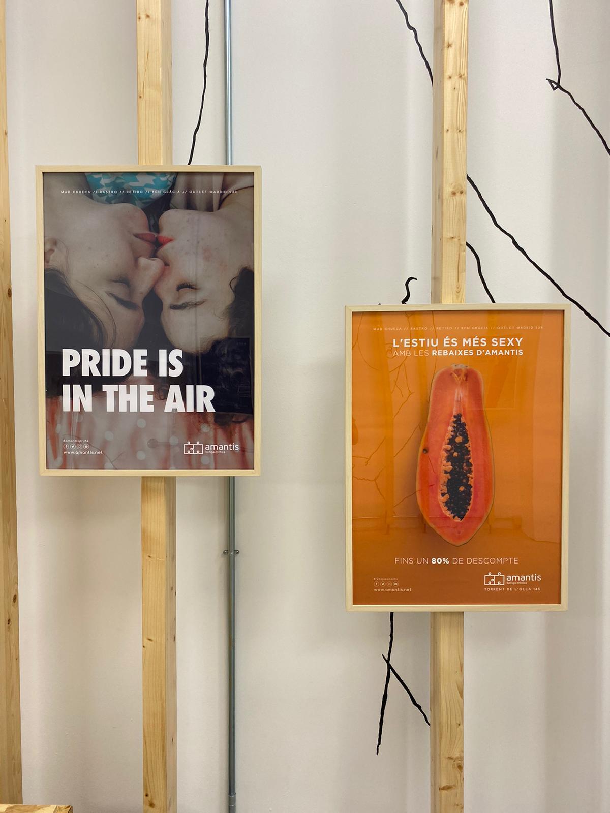 AMOR REAL: Historia de la sexualidad a través de las campañas de amantis | Exposición
