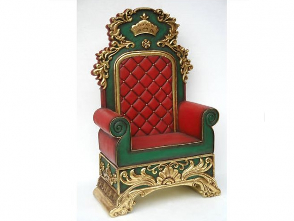 throne chairs for rent chair covers dining room with arms santa claus rentals - austin, san antonio, texas