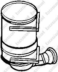 Filtre à particules / à suie, échappement BOSAL 097-120