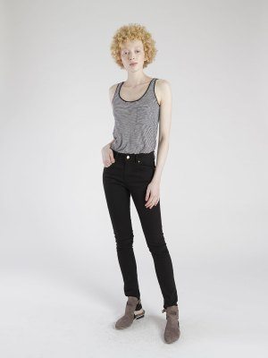 calça skinny preta