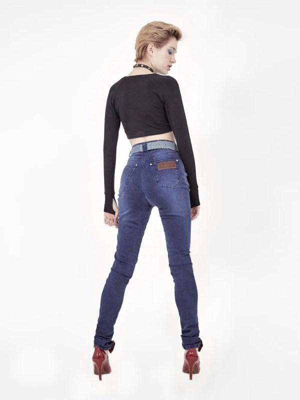 jeans cintura alta Amapô