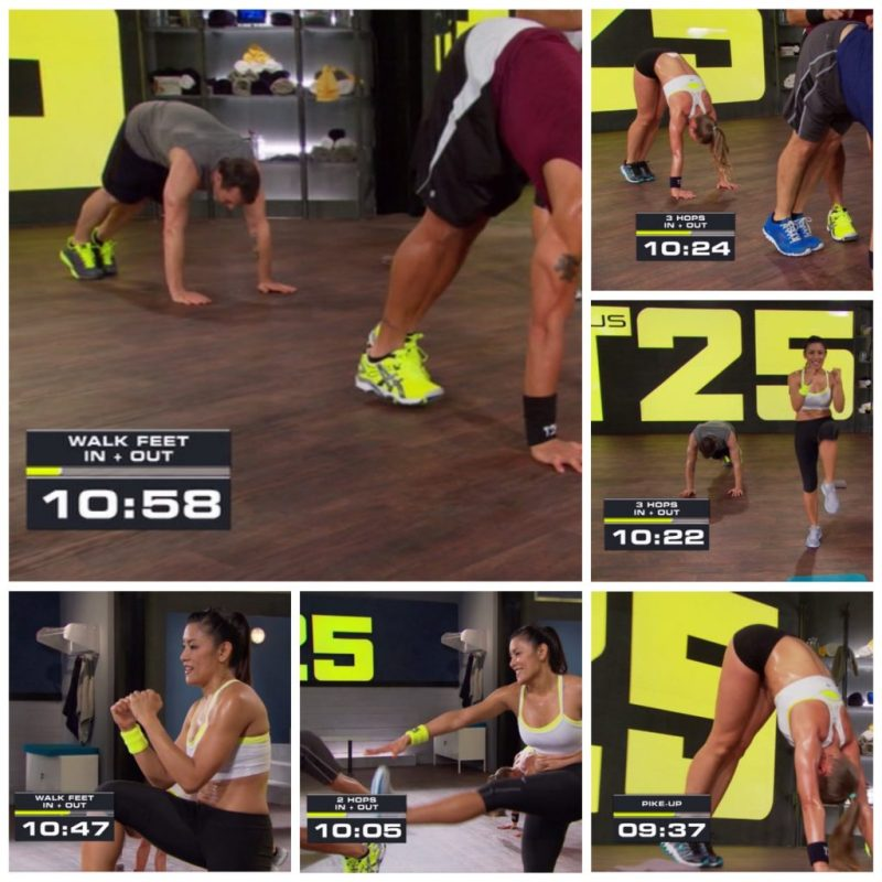Focus T25 Total Body Circuit 9 mins