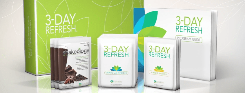3-Day Refresh Challenge pasck