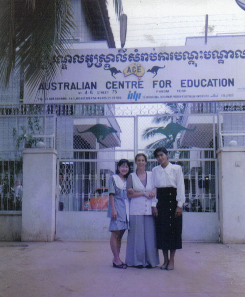 ACE Australian Center for education Que le temps passe vite!