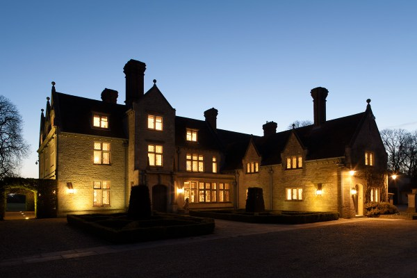 Manor House Outdoor Lighting