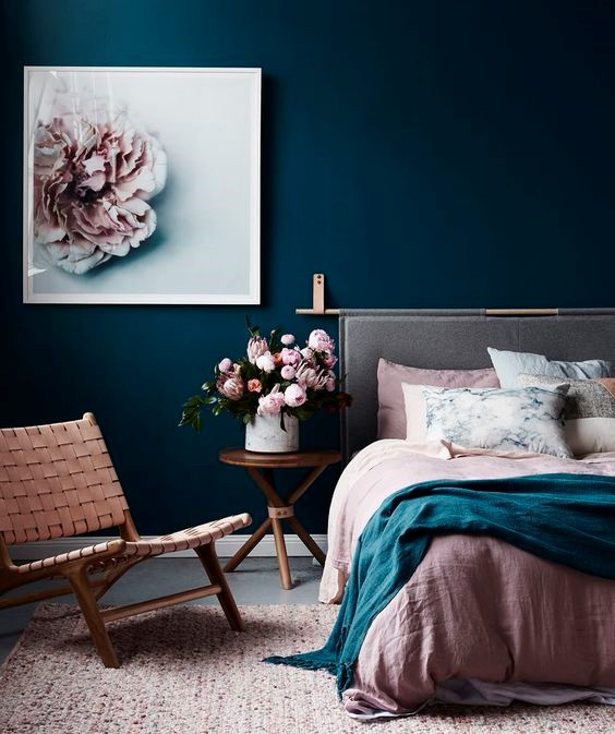 19 blissful bedroom colour