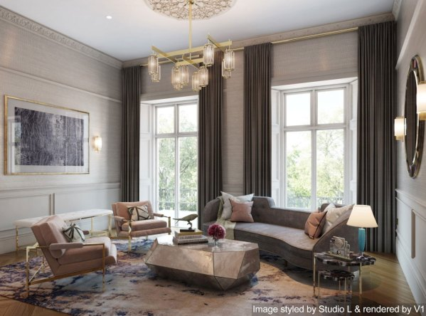 living room design trend 2019 2019 Interior Trends: The Ones to Watch