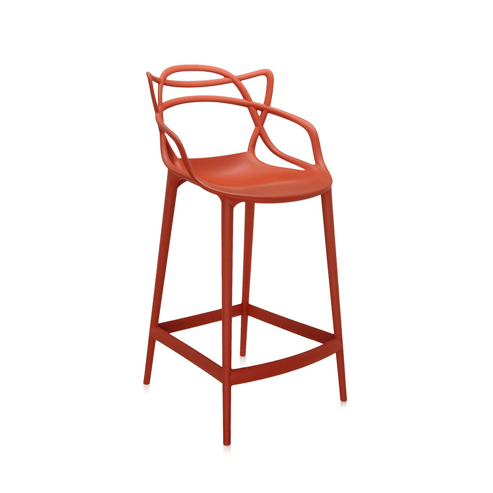 Buy Kartell Masters Stool Rusty Orange Amara