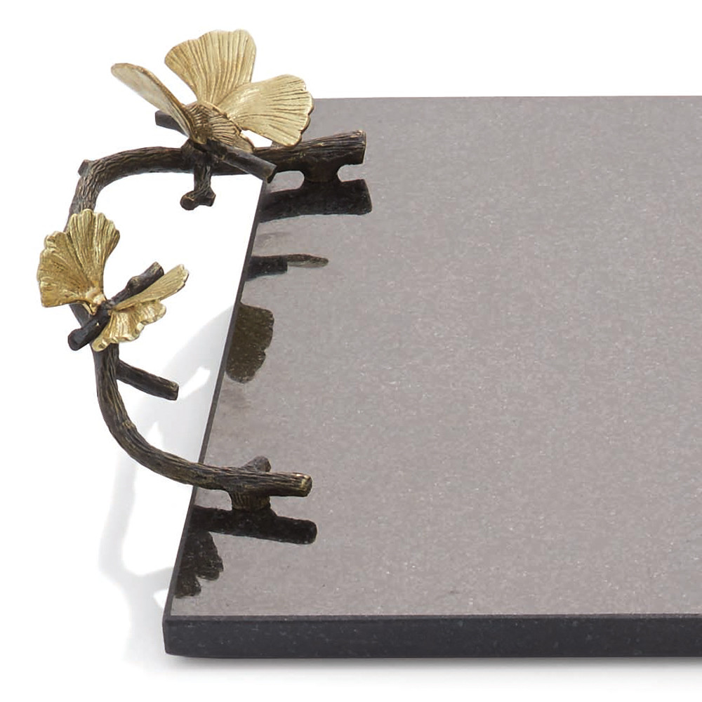 Buy Michael Aram Butterfly Amp Ginkgo Cheese Board With