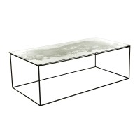 Buy A by Amara Iridescent Glass Coffee Table | Amara