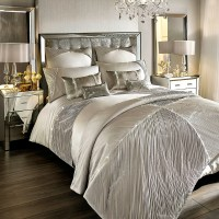Buy Kylie Minogue at Home Omara Duvet Cover - Champagne ...