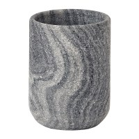 Buy Aquanova Flint Toothbrush Holder - Silver Grey | Amara