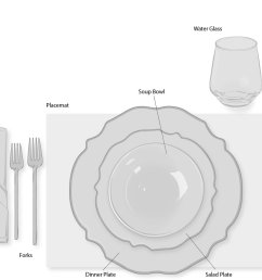 casual or informal dinner table setting [ 1240 x 948 Pixel ]