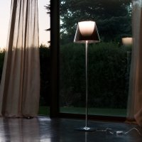 Buy Flos KTribe F Floor Lamp with Dimmer   Aliminized ...