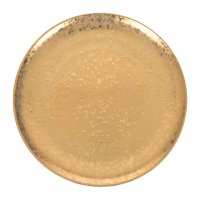 Buy L'Objet Alchimie Gold Dinner Plate | Amara