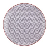 Buy Tokyo Design Studio Star Wave Dinner Plate - Small ...