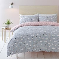 Buy Cath Kidston Mono Dog Duvet Set - Double | Amara