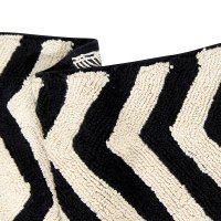Buy Lorena Canals Zig-Zag Washable Rug - Black & White | Amara