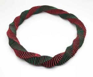 textil collar. Joyería Barcelona. Joyas Barcelona