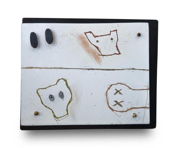 Judy Mccaig. Broche, brooch, jewell, amaranto arte Barcelona