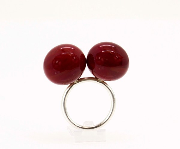 Anillos Cristal. contemporary jewelry. art in jewelry. Jewelry design Joyería Barcelona Diseño Barcelona Arte Barcelona