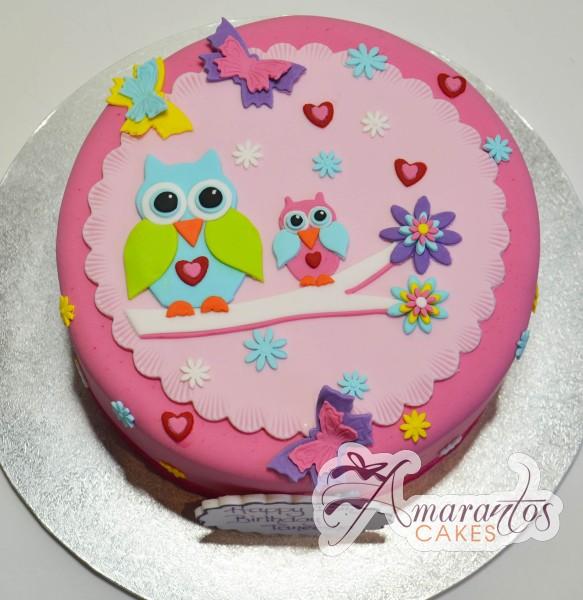 owl cake ac223