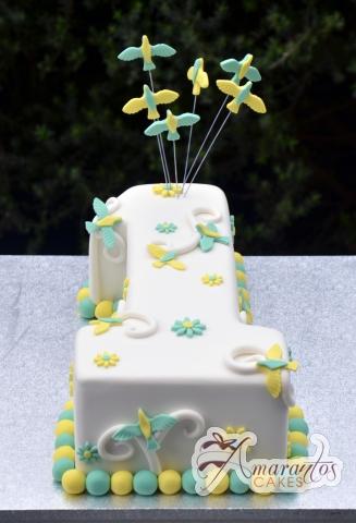 Customisable number cake - Amarantos Designer Cakes Melbourne