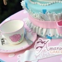 Tea Pot Cake - Amarantos Designer Cakes Melbourne