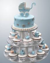 Cup Cake Tower - Amarantos Cakes Melbourne