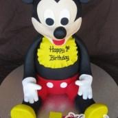 3D Mickey Cake - Amarantos Designer Cakes Melbourne