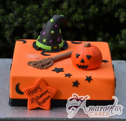 Halloween Cake - Amarantos Custom Made Cakes Melbourne