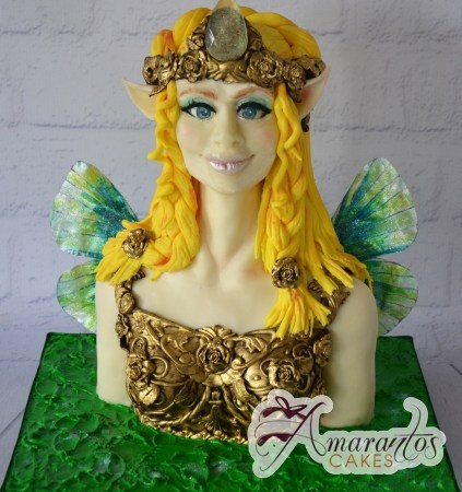 3D Fairy Bust Cake - Amarantos Designer Cakes Melbourne