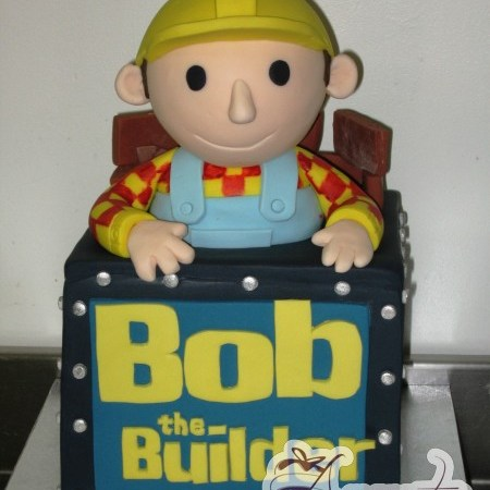 3D Bob the Builder - Amarantos Cakes Melbourne