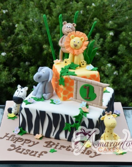 Two tier Jungle theme- NC438 1