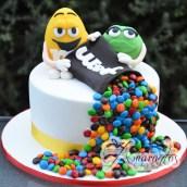 M&M Cake - Amarantos Designer Cakes Melbourne