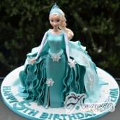 Elsa Frozen Cake - Amarantos Designer Cakes Melbourne