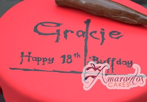 Buffy Themed Cake - Amarantos Designer Cakes Melbourne