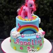 Two Tier My Little Pony- Amarantos Designer Cakes Melbourne