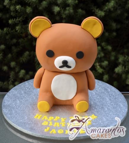 Rilakkuma Teddy Bear Cake - NC686 - Amarantos Birthday Cakes Melbourne