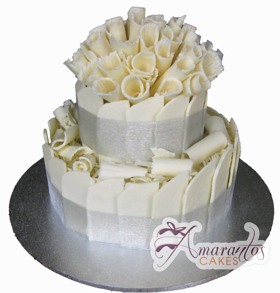 Two tier Cake - Amarantos Celebration Cakes Melbourne