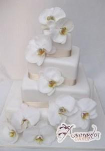 Four Tier Cake - Amarantos Designer Cakes Melbourne
