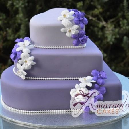 Three Tier Cake - Amarantos Cakes Melbourne