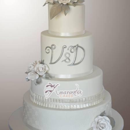 Five Tier Wedding Cakes