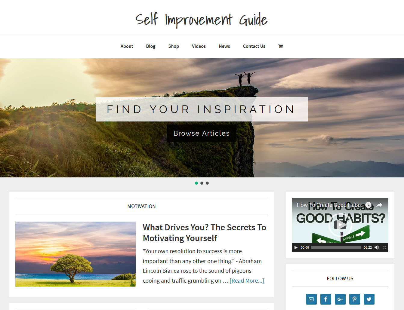 Good Self Improvement Websites