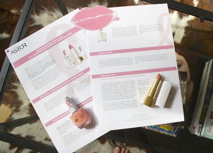 besos rosas astor día internacional del cancer de mama amaras la moda 2