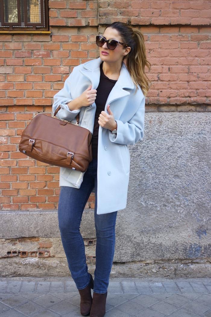 abrigo Paul and joe botines farrutx bolso michael kors jeans jbrand amaras la moda 3